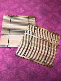 Bamboo Drink Coaster for two