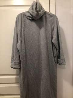 Oak + Fort grey sweater dress size OS