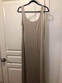 Tart beige dress size medium
