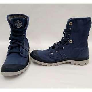 PALLADIUM Pallabrouse Baggy水洗舊反折靴/休閒鞋全新品男款EUR40號全球知名的軍靴品牌美式風格刷舊配色潮男型男穿不退流行經典不敗單品