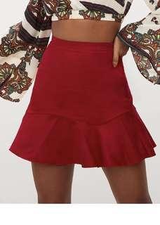Red skirt PLT Size 6