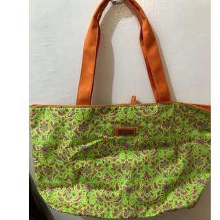 Made in Thailand. Jim Thompson Women Tote with Lining Medium Size