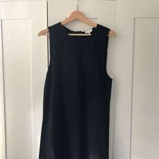 Aritzia Wilfred black shift dress