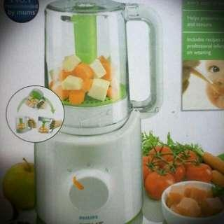[Sales] Philips Avent Combined Baby Food Steamer and Blender