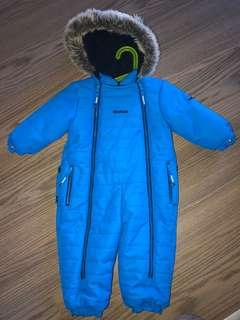 Never worn Oshkosh snowsuit 18months
