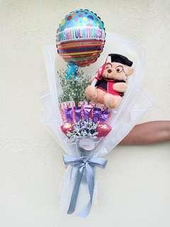 chocolate bouquet 💐 for graduation