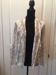 Aritzia Babaton Grayson Silk Blazer