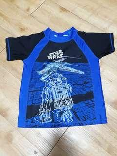 PreLoved Swimwear Top for Kids - Boy (Starwars)