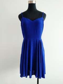 Tallulah electric blue summer dress