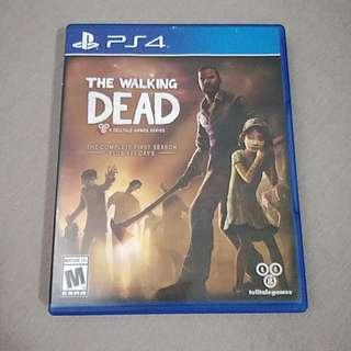 PS4 The Walking Dead (Sell Or Swap)