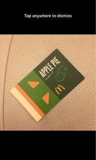 麥當勞 為食咭 McDonald Tasty Card