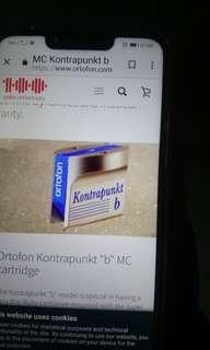 Ortofon cartridge