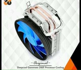 fan cpu cooler gammaxx 200T 12cm deepcool fan amd intel pc game