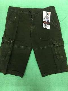 Kids Cargo Shorts Rs: 400  Sizes: 21-26 Ages: 2-10years old *b.e