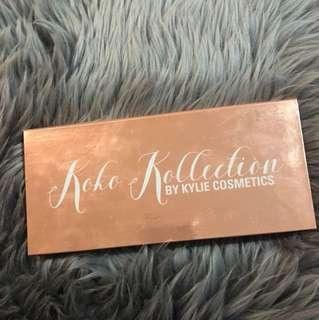 Kylie cosmetics koko kollection face Palette