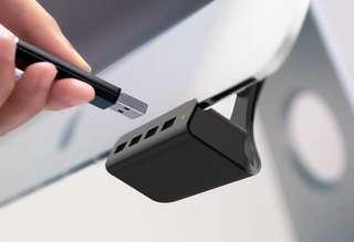 Ozaki USB hubs for iMac