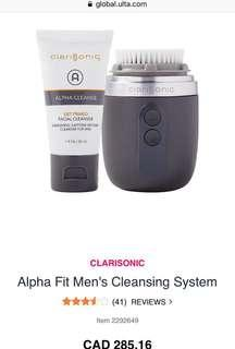 Brand New Alpha Fit Clarisonic Men