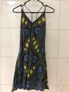 Tigerlily silk dress