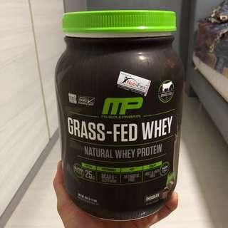 Grass-Fed Whey. Natural Whey Protein.