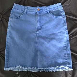 Denim skirt size 14