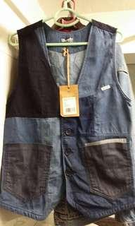 New wrangler patch vest