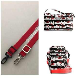 0.75 inch red seat belt strap for Jujube
