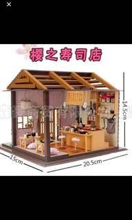 DIY Miniature Model - Japanese Restaurant