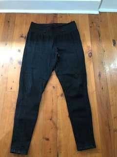 Women's breakers black maternity jeans size 14