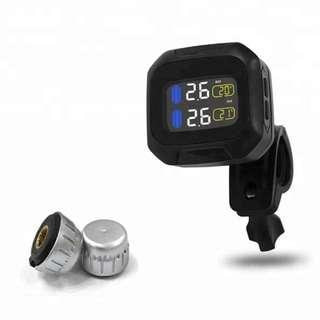 Solar Motorbike & bicycle tire-pressure monitoring system (TPMS) ; 太陽能電單車或單車胎壓偵測器