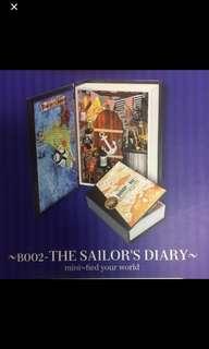 DIY Miniature Model : Sailor's Diary