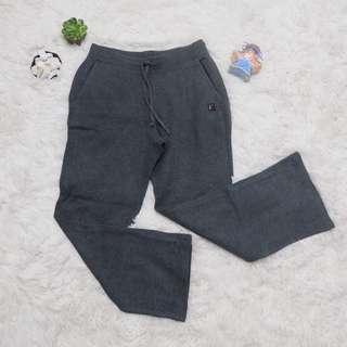 Wide leg jogging pants