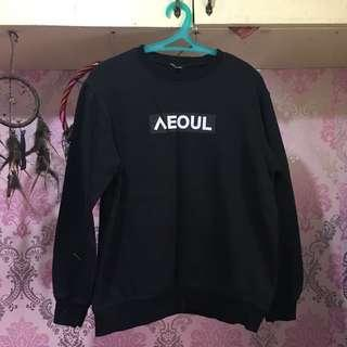 Black Korean Sweater