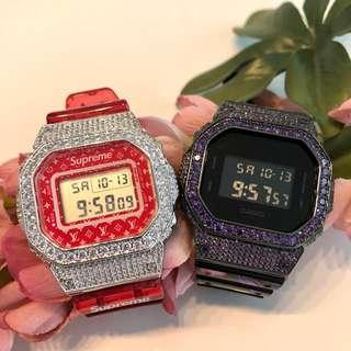 🚚 Customise DW5600 paired with Swarovski bezel from only $250!!! Grab yours now!!!