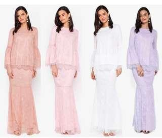 Lubna Full Lace kurung