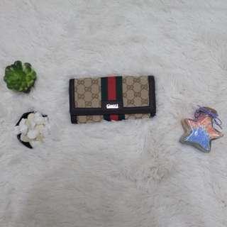 Gucci 3 fold wallet