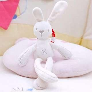 🚚 Instock - bunny rattle toy, baby infant toddler girl boy