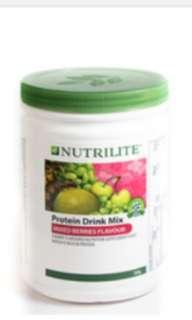 NUTRILITE Protein Drink Mix (Mixed Berries Flavour) 500g