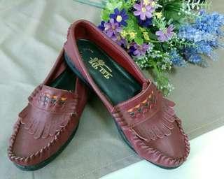 🚚 朋友寄賣復古26號平底鞋