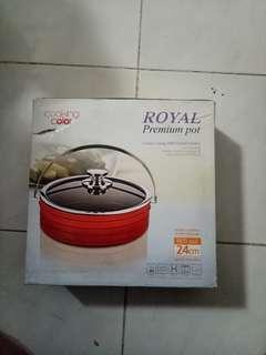 Royal Premium Pot Keramik Panci Color