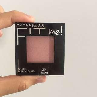 ONLY TODAY MAYBELLINE Fit Me blush On SALE