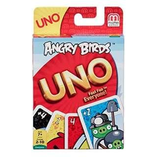 UNO Card Game ~ Angry Birds