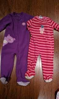 Fleece sleepers 2T