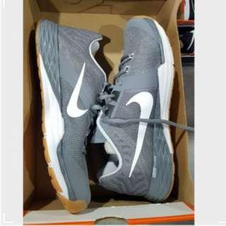 Promo- Free Delivery- Nike Train Prime Iron Dual Fusion Mens Training Shoes Grey/Black/White -