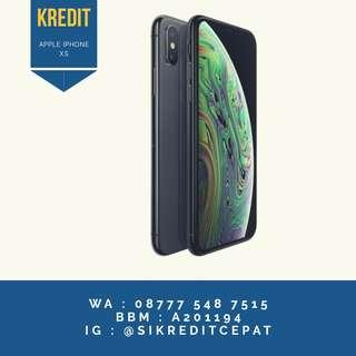 Iphone Xs 64Gb kredit free 1x angsuran