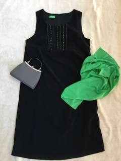 Sleeveless Black Dress for Women (Size L-XL)