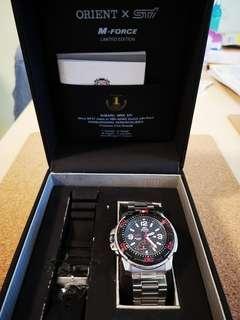Orient x STI 200m Mens Diver Watch