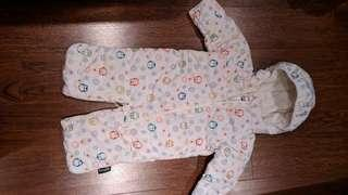 New 6 months snowsuit