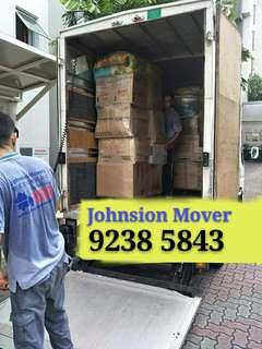 WHATSAPP 92385843 JohnsionMover, professional experience house moving services!!