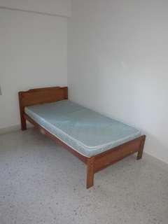 Single Bedframe n mattress