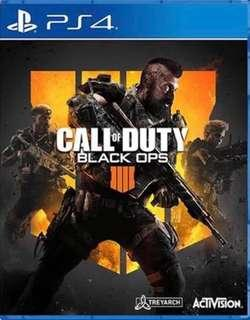 全新 PS4 Call Of Duty Black Ops 4 中文版